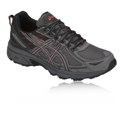 Asics Mens Gel-Venture 6 Trail Running Shoes Trainers Sneakers Grey Sports