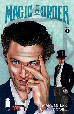 The Magic Order 1 Comic Stacks Jackson Variant Millar Netflix NM 9.6+ In Hand