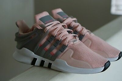 ca851680bfb3 NEW adidas Originals EQT Support ADV GIRLS YOUTH SIZE 6 Vapor Pink Grey