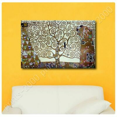 Water Serpents Tree Kiss Expectation by Gustav KlimtPoster or Wall Sticker