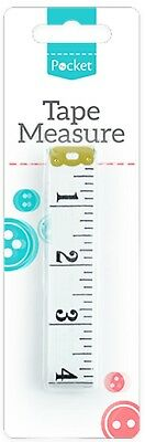 "White Body Measuring Ruler Sewing Cloth Tailor Tape Measure Soft Flat 60"" /150cm"