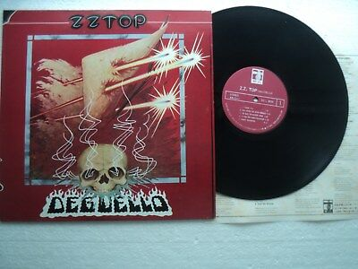 ZZ TOP - Deguello - Super rare/ unknown official TAIWAN release LP + Insert