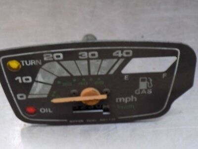 Honda Ns 50 Melody 1982 Speedometer Front And Inside Workings