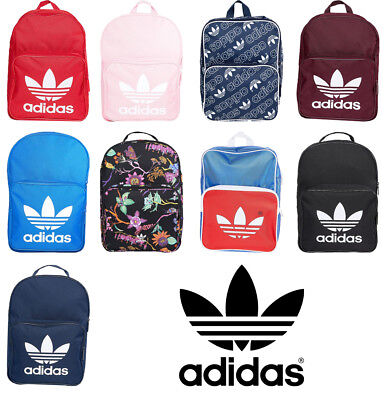 ADIDAS ORIGINALS ADICOLOR Classic School Bag Trefoil Logo Backpack ... 8887849a9e