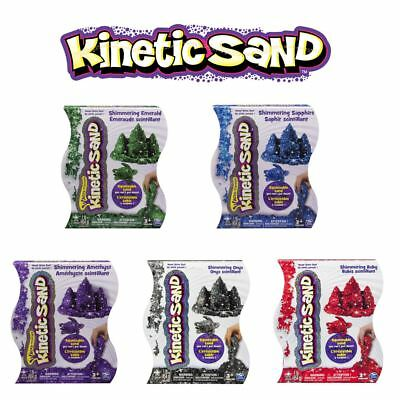 Kinetic Sand Shimmering Squeezable Coloured Moldable Sand