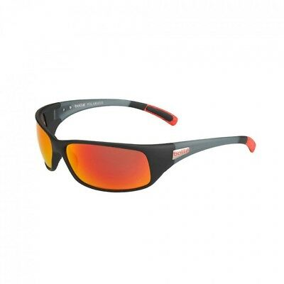 50444a2a4af Bolle Recoil Sunglasses - 12438 - Black Red Frame w  Polarized Fire Oleo  Lens
