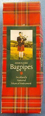 Set of JUNIOR PLAYABLE BAGPIPES ( McKENZIE tartan )