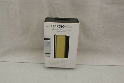 QardioArm Wireless Smart Blood Pressure & Heart Rate Monitor Gold OPEN BOX 18V1