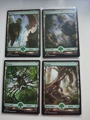 MTG Battle for Zendikar BFZ 100 Full art basic land NM/M