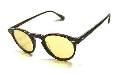 2ddc198475 New Oliver Peoples Sunglasses Gregory Peck Sun Palmier Chocolat + Light  Brown