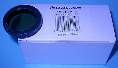Celestron Moon Filter.  New In Box.