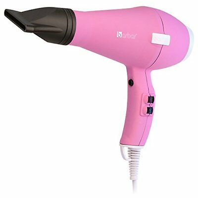 New Barbar Italy 3800 Ionic Fast Dry Blow Dryer in Black or Pink