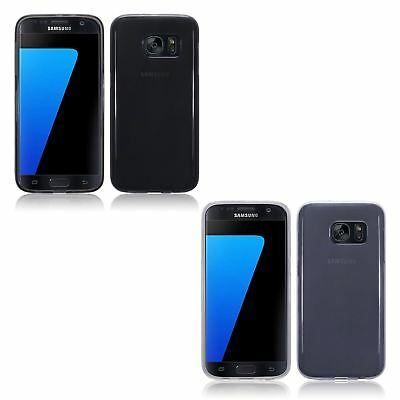 For Samsung Galaxy S7 TPU Gel Silicone Skin Case Cover