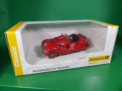SCHUCO Examico Roadster aus Blech - Post Edition - 006722 mint in Box NOS