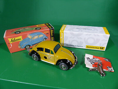 SCHUCO Micro Racer 1046 VW Käfer Deutsche Post  mint in Box NOS