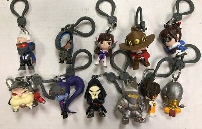 LOT Of 5 Random fiGURES cUTE bUT dEADLY box figures Overwatch All mixes 1//2//3