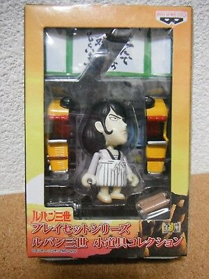 Lupin the third 3rd III Goemon Props Collection Play Set Series Monkey Punch