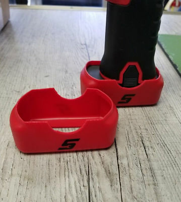 QUANTITY 2 - Snap On Red Battery Boot Covers CT761 CTS761 CDR761 CTR761 14.4V