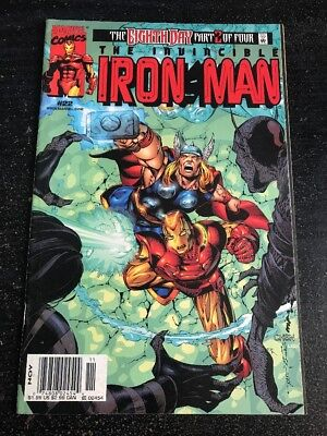 Iton Man#22 Awesome Condition 8.0(1999) Thor, Sean Chen Art!