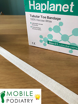 Podopro Tubular Gauze Toe and Finger Dressing Size 01 12