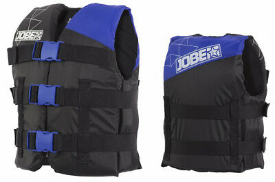 Gilet enfant 30 à 40 kg - Nylon Vest Youth Blue CE ISO 50N - Jobe 2018 - wake