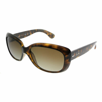 Ray-Ban Jackie Ohh RB 4101 710/T5 Light Havana Sunglasses Brown Shaded Polarized