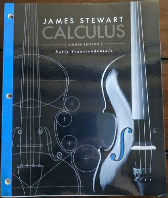 Calculus early transcendentals by james stewart eighth 8th edition calculus early transcendentals by james stewart eighth 8th edition loose leaf fandeluxe Image collections