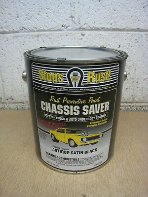 New Magnet Paint UCP970-01 1-Gallon Can Chassis Saver Paint Antique Satin Black