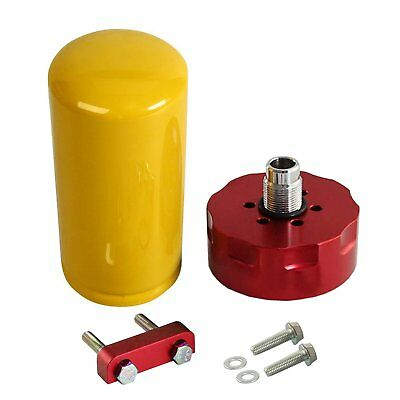 red cat fuel filter adapter kit fit 2001-2016 gm duramax 6 6l diesel