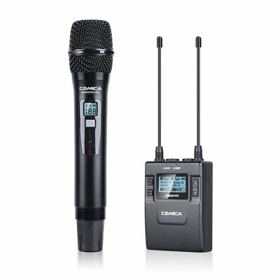 Comica CVM-WM300(D) 96-Channel UHF Wireless Lavalier Handheld camera Microphpne