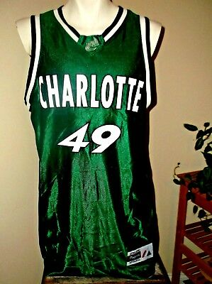 db9fee75fefd Rare Nwt Majestic Uncc Unc Charlotte 49Ers Basketball Jersey Made In Usa  Large