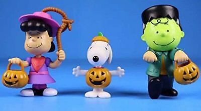 PEANUTS LUCY SNOOPY and Charlie Brown Plastic Halloween Figures New ... 1c93e105f