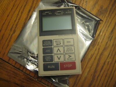 NEW-Yaskawa JVOP-160 Inverter Drive Remote LCD Digital Operator Keypad-NEW!!