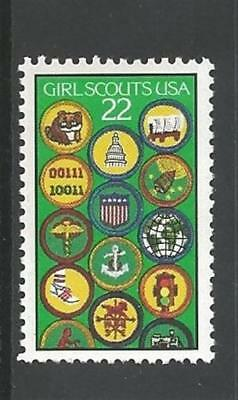 1987 Girl Scouts 75th anniversary # 2251