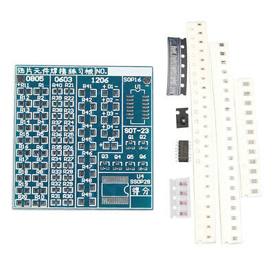 SMT SMD Component Welding Practice PCB Board Soldering DIY Kits for Arduino