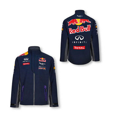 Infiniti Red Bull Racing Mens Team Softshell Jacket Formula 1 Size S & M Only