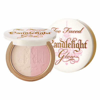 TOO FACED Candlelight Glow Highlighters Powders (BNIB) Choose Warm or Rosy Glow