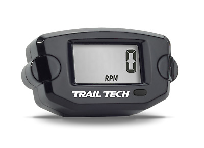 Trail Tech Tach / Hour Meter Black