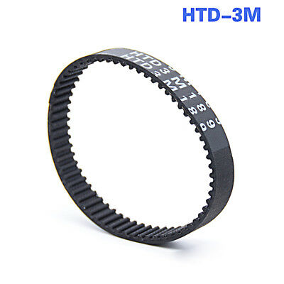 Close Loop Rubber Timing Pulley Belt HTD 3M-189/210/216-390 Width 10/15mm