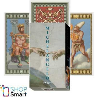 Michelangelo Tarot Deck Cards Esoteric Fortune Telling Lo Scarabeo New