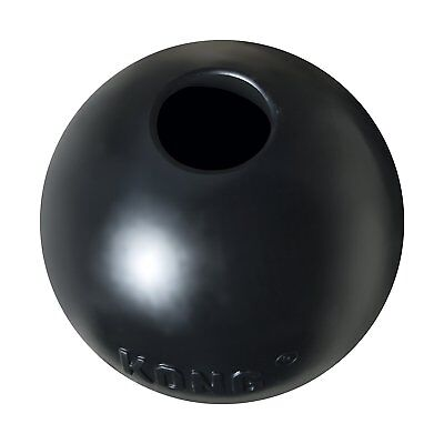 Dog Chew Toy KONG Rubber Ball Extreme Chewing Tough Durable Black Small Large