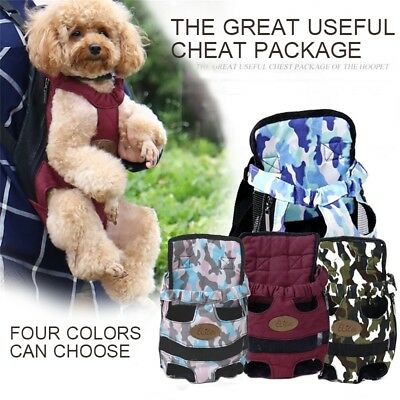 Pet Dog Cat Carrier Bag Puppy Kitten Rabbit Shoulder Tote Soft Backpack 4 Colors