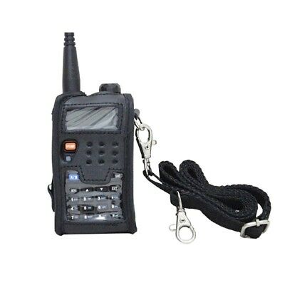 For Baofeng Walkie Talkie Leather Soft Case Cover two way radio For UV-5R L4Z2