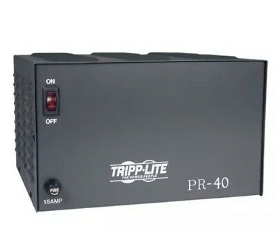 Tripp Lite, PR40, Precision Regulated dC Power Supply Coverts Power AC To DC