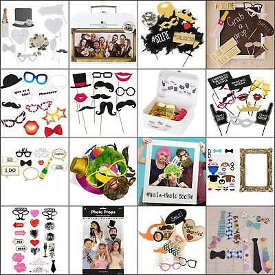 Photo Booth Prop Wedding Reception, Bride, Groom, Favour, Party, Gift, Supplies