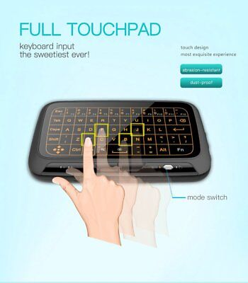 NEW Backlit H18+ 2.4G Wireless Keyboard Touchpad for Android Smart TV BOX IPTV