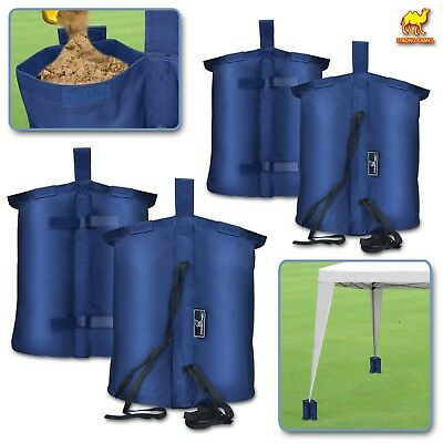 Weights Bag, Leg Weight for Pop up Canopy Tent Sand Bag 4 Pack Weighted Feet Bag