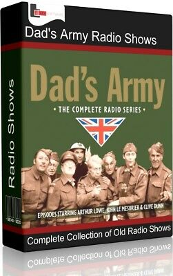 Dad's Army Radio Shows Audio MP3 CD | Complete Old Time 67 Episodes and Extras |