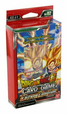 Dragonball Super Card Game The Extreme Evolution SD02
