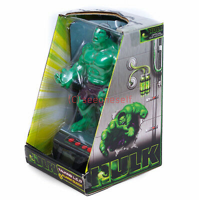 The Incredible Hulk Talking Alarm Clock OFFICIAL Rare & Collectible! NEW IN BOX